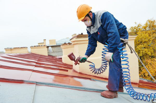 Commercial Spray on Roofing - Preview