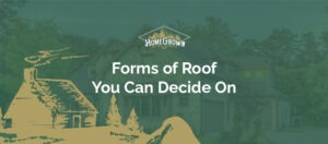 Forms of roof you can decide on