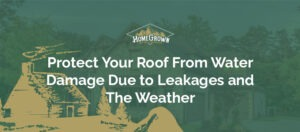 Water Damage due to leakages