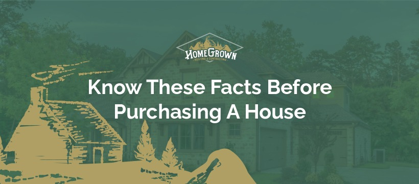 Facts Before Purchasing A House