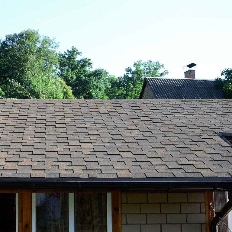 Wind rated roof shingles