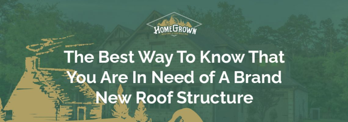 Need brand new roof structure